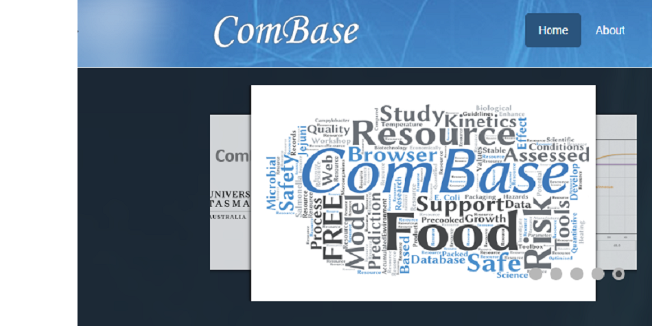 ComBase: A Web Resource for Quantitative and Predictive Food Microbiology