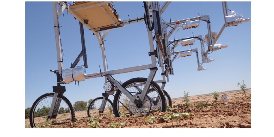 High-throughput phenotyping proximal sensing cart