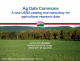 USAIN Conference and Ag Data Commons cover banner