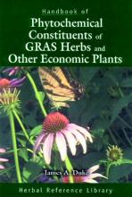 Duke, James A. 1992. Handbook of phytochemical constituents of GRAS herbs and other economic plants. Boca Raton, FL. CRC Press